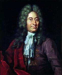 Portret van Ole Rømer (1644-1710), astronoom