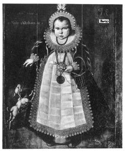 Portret van Abraham van Beveren (1604-1663)