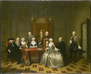 Portret van de familie Jeronimo de Bosch