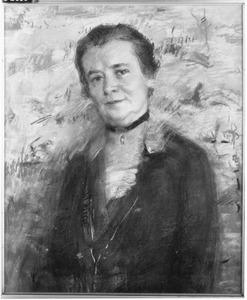 Portret van Mej. A.C. Gijswijk