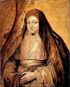 Portret van Isabella Clara Eugenis als non van de Ongeschoeide Carmelitessen