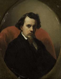 Portret van Charles Leickert (1818-1907)
