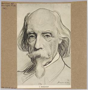 Portret van de kunstenaar Christoffel Bisschop