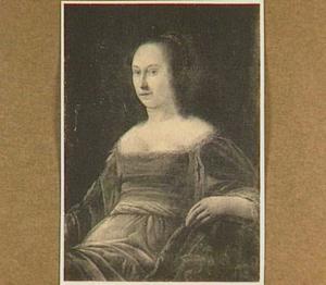 Portret van een vrouw in fantasiekostuum