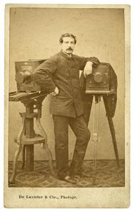 Portret van François Joseph Cuissinier (1840-1903)