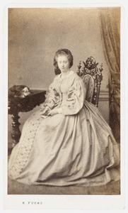 Portret van Petronella Adriana Haitsma Mulier (1841-1906)