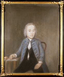 Portret van Gualtherus Kolff (1711-1789)