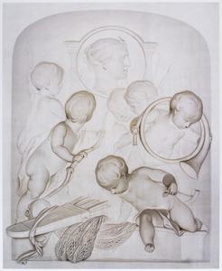 Allegorie op de godin van de jacht Diana