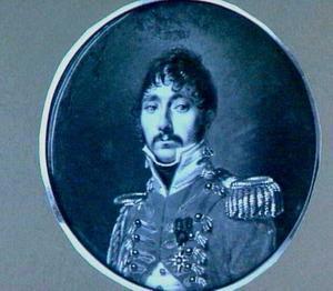 Portretminiatuur van J.W. Hachmeester Eekhout