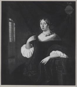 Portret van Catharina van Hunthum (1636-1706)