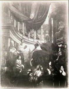 De doop van de H. Augustinus door de H. Ambrosius