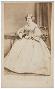 Portret van Suzanna Wilhelmina Staats Evers (1817-1880)