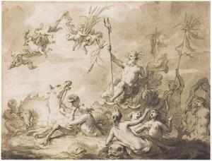 De triomf van Neptunus (Metamorfosen)