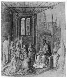 Ester voor Ahasverus (Ester 5:2)