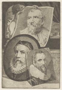 Portretten van Otto van Veen (1556-1629). Adam van Noort (1562-1641) en Marcus Gheeraerts II (....-....)