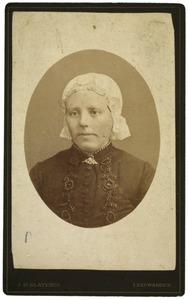 Portret van Ruurdtje Jacobs Kalma (1854-1911)
