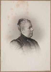 Portret van Adriana Cornelia Lamme (1851-1941)