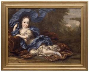 Kinderportret van Hedvig Sofia (1681-1708), prinses van Zweden