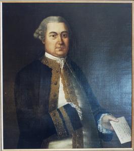 Portret van Jan Marius de Salve