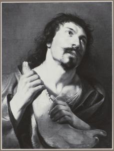 Simson met een ezelskakebeen in zijn hand (Richteren 15:9-20)