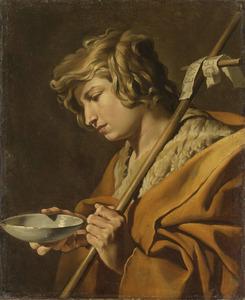 Johannes de Doper als een jongeman