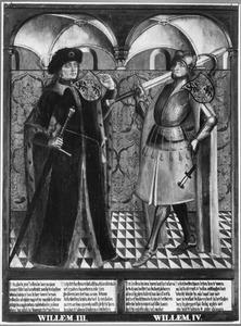 Haarlemse gravenportretten: Willem III en Willem IV