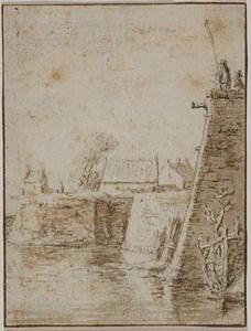 Bastion Manenburg te Utrecht gezien vanuit het noordoosten