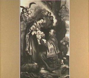De verschijning van Maria aan de H. Franciscus