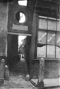 Gezicht op de Omvalspoort te Haarlem