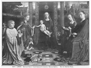 Maria met kind, heiligen en de stichter Richard de Visch van de Capelle