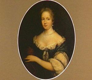 Portret van een vrouw, mogelijk Hilgonda Maria van Heemskerck, echtgenote van Johan Jacob Wierts