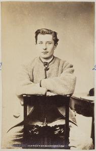 Portret van een man uit familie Murray Bakker