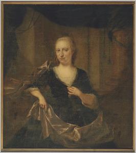 Portret van Adriana Alette Storm van 's Gravesande (1715-1796)