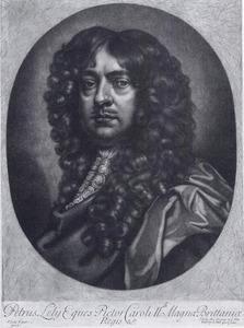 Portret van Peter Lely (1618-1680)