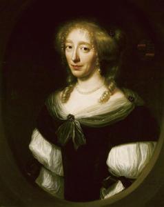 Portret van Jacoba Bicker (1640-1695), echtgenote van Pieter de Graeff (1638-1707), Vrijheer van Zuid-Polsbroek, Purmerland en Ilpendam, Schepen van Amsterdam, bewindhebber van de Verenigde Oostindische Compagnie
