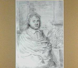 Portret van de Leidse astronoom Samuel Kechelius van Hollensteijn (1611-1668)