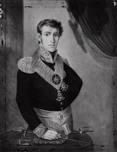 Portret van prins Frederik van Oranje- Nassau (1797-1881)
