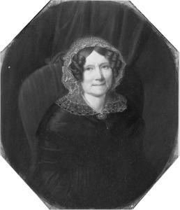 Portret van Johanna Maria Nutges (1784-1858)