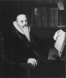 Portret van Johannes Hallius (1549-1619)