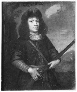 Portret van een jonge man als jager