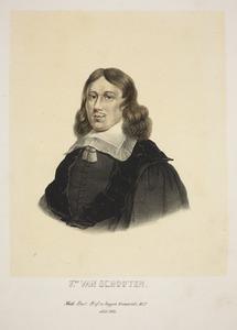 Portret van Frans van Schooten (1615-1660)