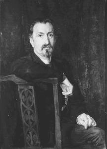 Portret van de heer Molenaar