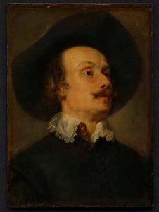 Portret van de schilder Pieter Snayers (?)