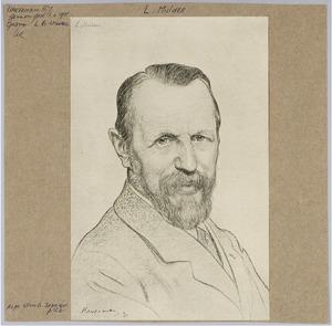 Portret van de heer L. Mulder