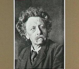 Portret van de schilder Hendrikus Alexander van Ingen