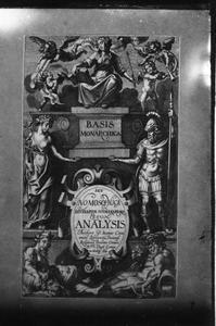 Titelpagina voor J. Caramuel Lobkowitz, Basis Monarchica ...
