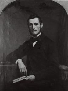 Portret van Johannes Albarda (1825-1862)