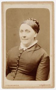 Portret van Maria Jacoba Idenburg (1827-1913)