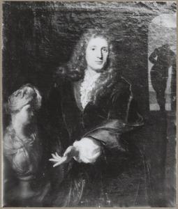 Portret van een man, waarschijnlijk Pieter van der Plas (....-1708)