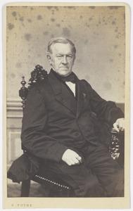 Portret van Andries Gratama (1800-1884)